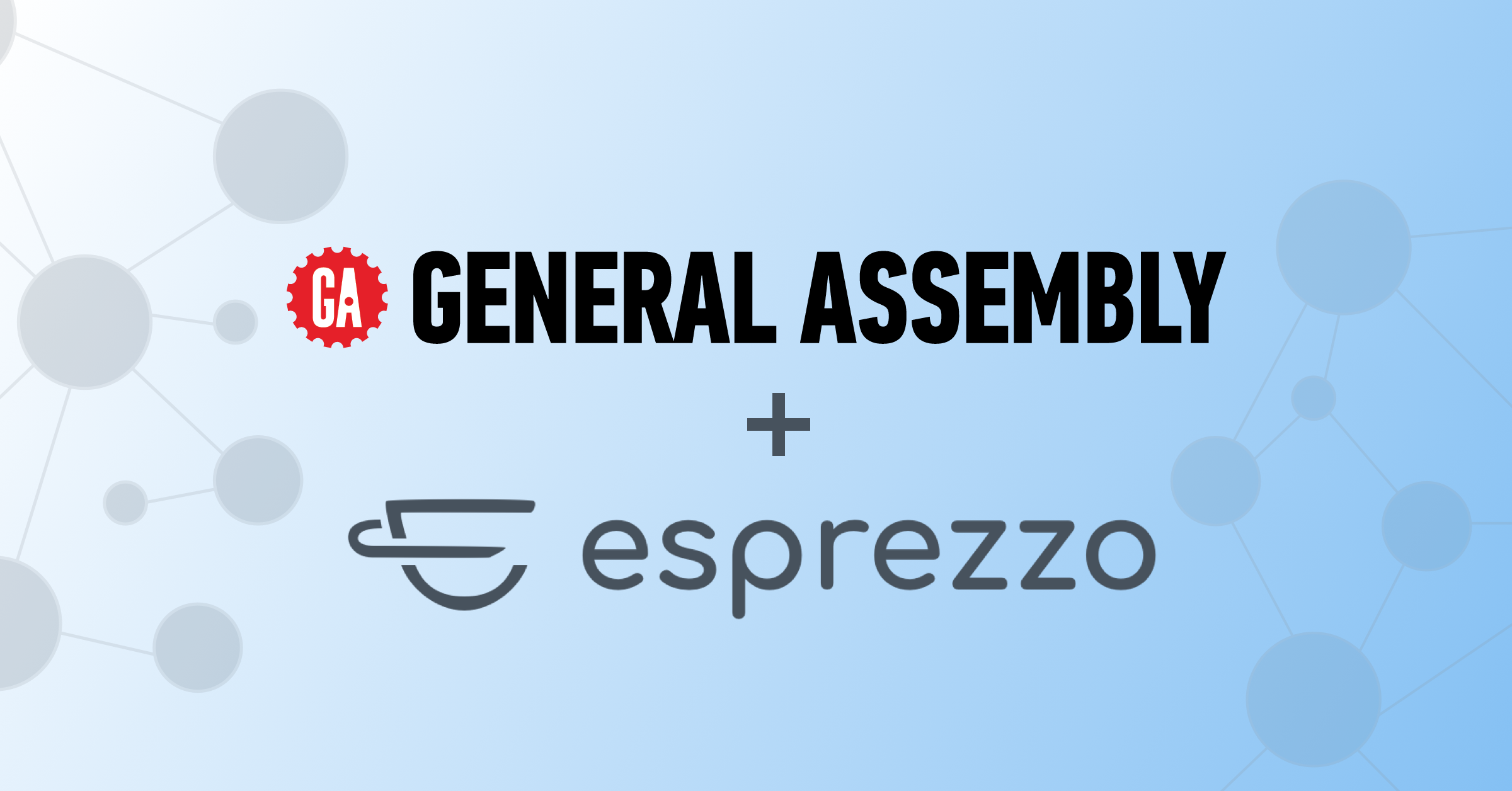 General Assembly and Esprezzo logos