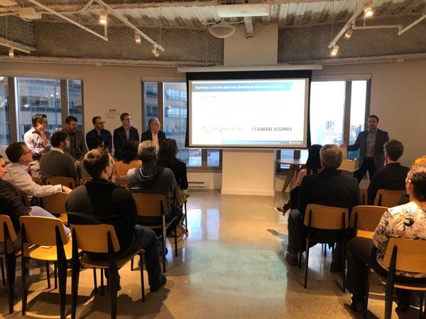Esprezzo Disruptive Power of Blockchain in Business Panel