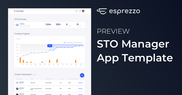 Esprezzo STO Manager App Template Preview Image