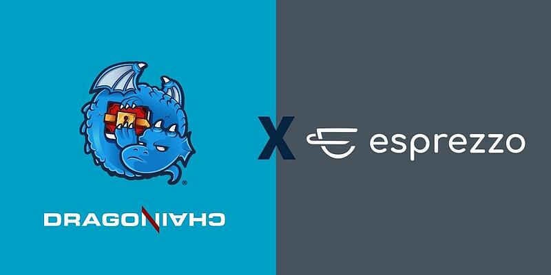 dragonchain and esprezzo logos